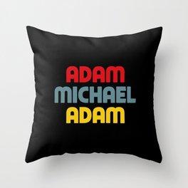 Adam Michael Adam Throw Pillow