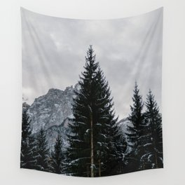 Stormy Forest | Nature and Landscape Photography Wall Tapestry