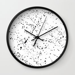 Dazed + Confused [White] Wall Clock