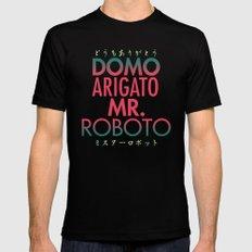 Domo Arigato Mr. Roboto MEDIUM Mens Fitted Tee Black
