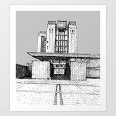 The Baltic Art Gallery Art Print