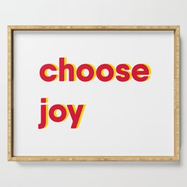 Choose Joy Serving Tray