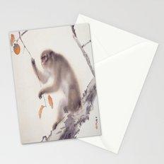 Monkey Vector After Hashimoto Kansetsu Stationery Cards