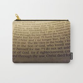 Through the Law. Carry-All Pouch
