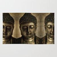 meditation Area & Throw Rugs featuring Meditation by inkedsandra
