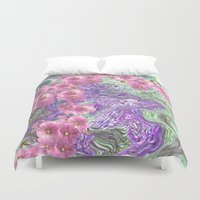 romantic Duvet Covers featuring Romantic by Vargamari