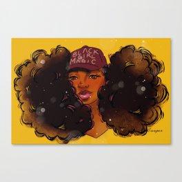 Black Girl Magic Tamron Canvas Print