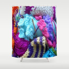 For the love of crafting Shower Curtain