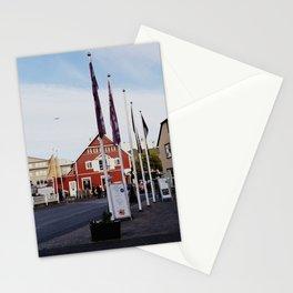 Backroads of Reykjavik in the 10 p.m. Dusk Stationery Cards