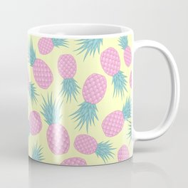 Pink pastel pineapple Coffee Mug