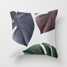Monstera 02 Throw Pillow
