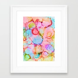 Magical ink art Framed Art Print
