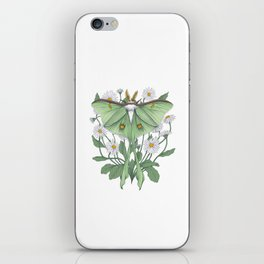 Metamorphosis - Luna Moth iPhone Skin
