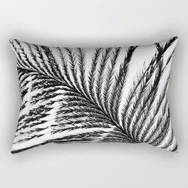 Plume- A Feather Study 2 Rectangular Pillow