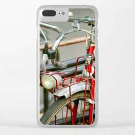 Bicycles of Paris Clear iPhone Case