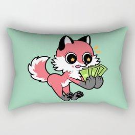 Money Fox Rectangular Pillow