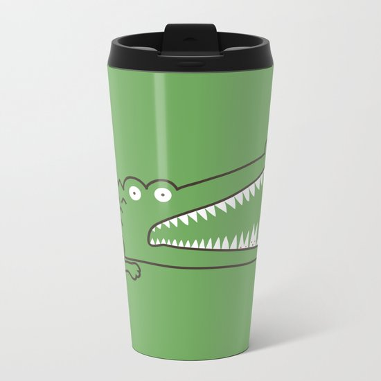 Mr. Croc's Nightmare Metal Travel Mug