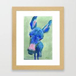 Wonkey Donkey Framed Art Print
