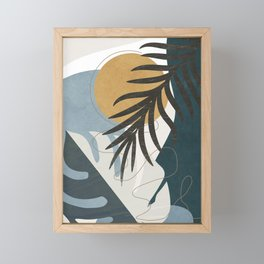 Abstract Tropical Art II Framed Mini Art Print