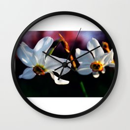 Watching over you Wall Clock