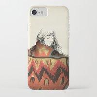 navajo iPhone & iPod Cases featuring Navajo by Karen Hofstetter