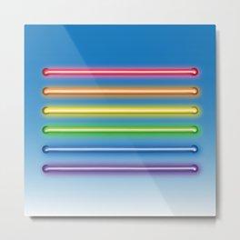 Flag Equality Metal Print