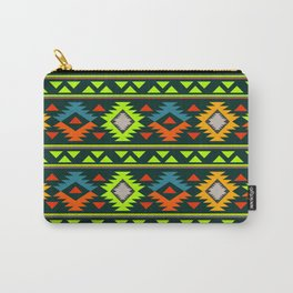 Geometric Navajo Carry-All Pouch