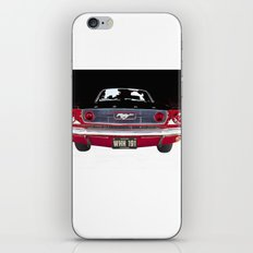 Vintage Mustang Classic Car iPhone Skin