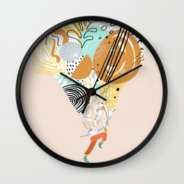 Better With Music Wall Clock