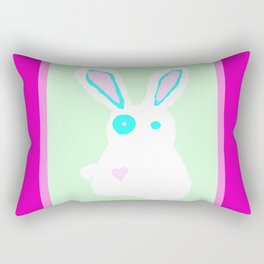 Bun Bun Rectangular Pillow