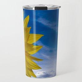 Concept Sunflower Greetingcards Travel Mug
