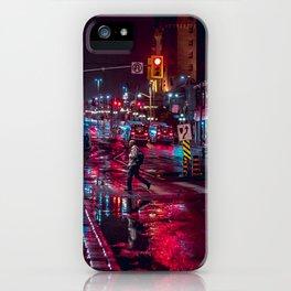night stroll iPhone Case