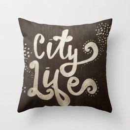 City Light Throw Pillow