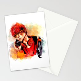Seven Mystic Messenger Watercolor Stationery Cards