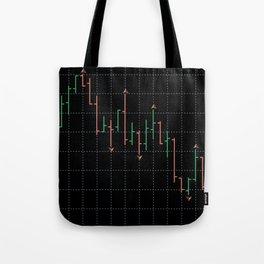 Bars and fractal Tote Bag