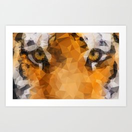 Burning Bright! Art Print