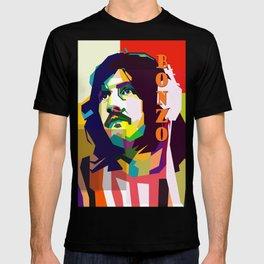John Henry Bonham Pop Art WPAP T-shirt