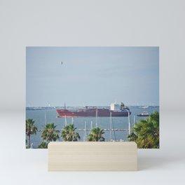 Petrochemical Tanker Mini Art Print