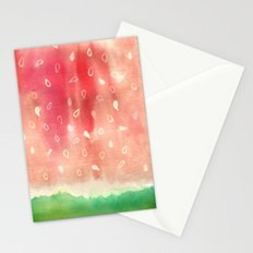 Watermelon drops Stationery Cards