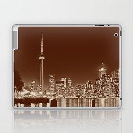 Downtown Toronto Vintage Wall paper Laptop & iPad Skin