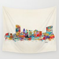 ohio Wall Tapestries featuring toledo ohio  by bri.buckley