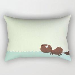 Beaver Rectangular Pillow
