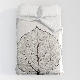 Aspen Leaf Skeleton 1 Comforters