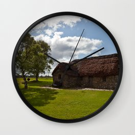 Leanach Cottage Wall Clock