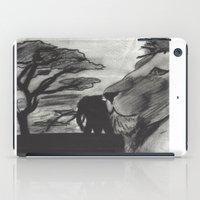 safari iPad Cases featuring Safari by SaphronSunshine