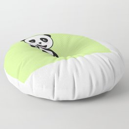 Soccer Panda with ball T-Shirt for all Ages Dkbjf Floor Pillow