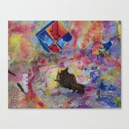 Tell Me Where to Go Canvas Print