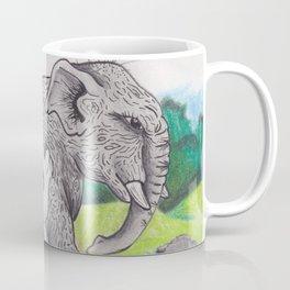 Panda and Elephant Coffee Mug