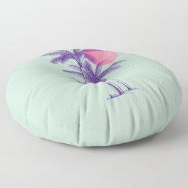 noche tropical Floor Pillow