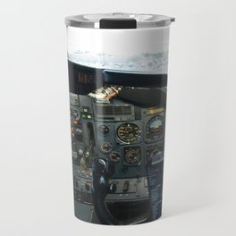 737 Airliner Cockpit Travel Mug